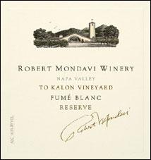 Robert Mondavi Napa Valley Fume Blanc