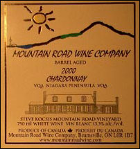 Mountain Road Wine Company