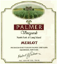 Palmer Vineyards Wine