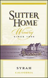 Sutter Home Winery syrah california