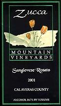 Zucca Mountain Vineyards