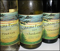 Chateau Fontaine Winery - Leelanau Peninsula, Michigan Wines