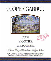 Cooper-Garrod Estate Vineyards - Santa Cruz Mountains