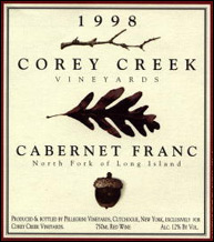 Corey Creek Vineyards - North Fork of Long Island