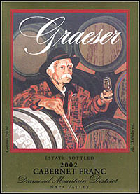 Graeser Winery - Diamond Mountain District Cabernet Franc