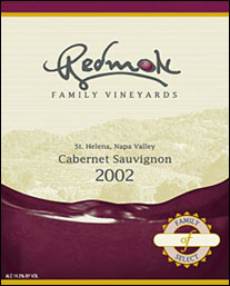 Redmon Family Vineyards - Napa Valley