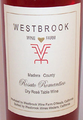 Westbrook Wine Farm Rosato Romantico