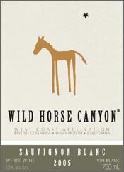 Wild Horse Canyon Winery Sauvignon Blanc
