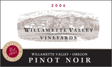 Willamette Valley Vineyards oregon pinot noir
