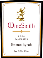 WineSmith Roman Syrah