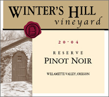 Winter&#39s Hill Vineyard Pinot Noir
