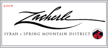 Zacherle Spring Mountain District Syrah