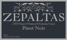 Zepaltas Wines Pinot Noir