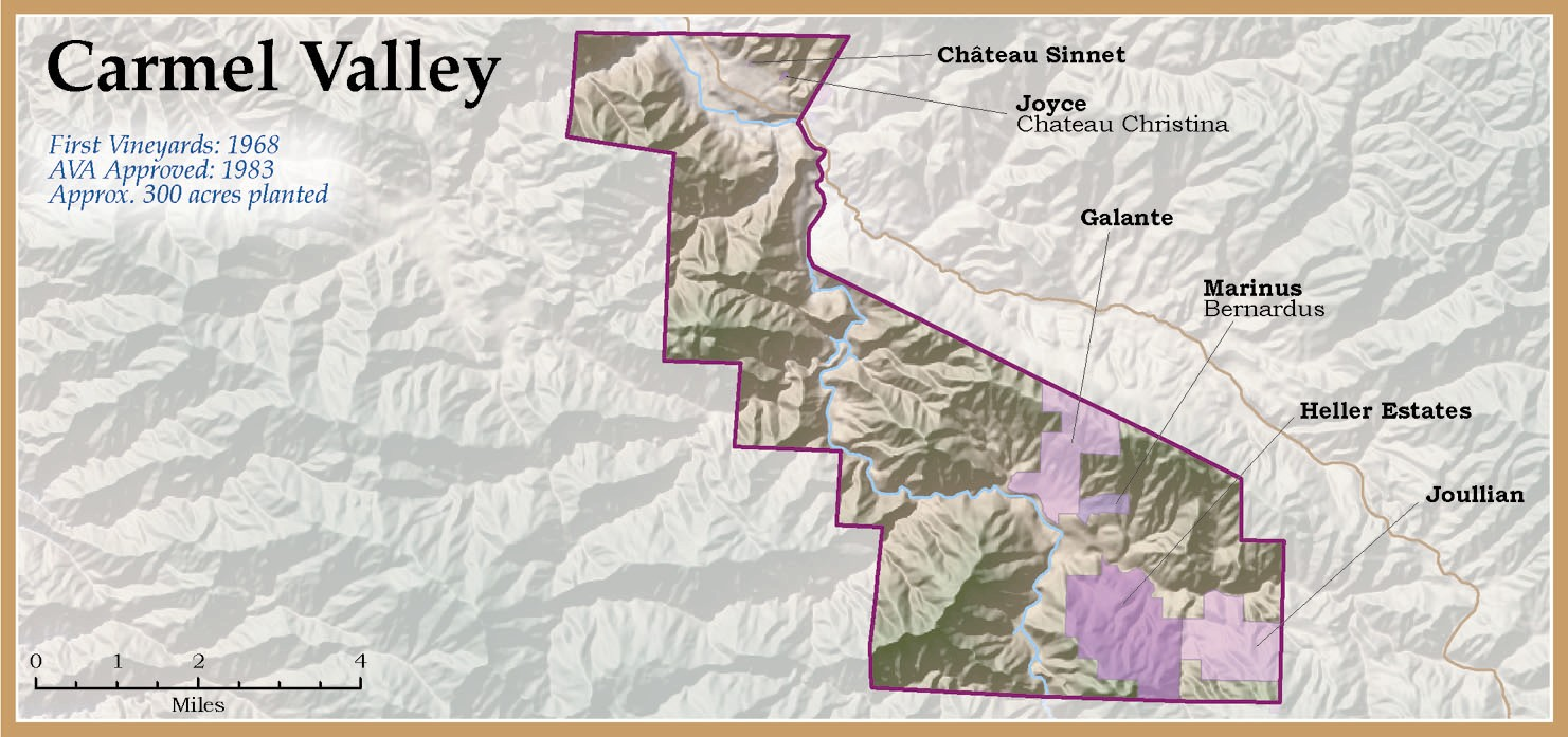 Monterey County Wine Monterey County Wineries and Grapes of the