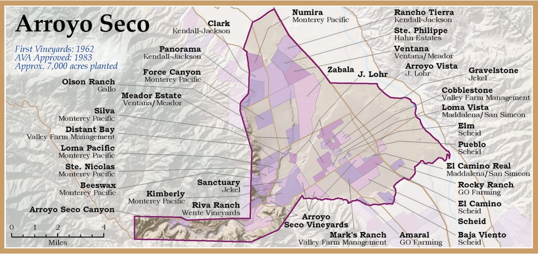 Monterey Wine Monterey Wineries  Grapes of the Monterey Growing